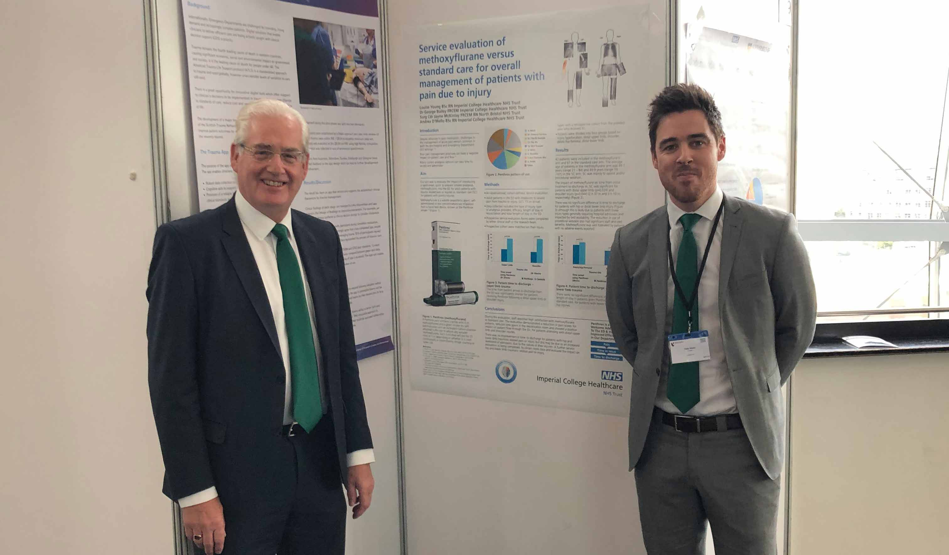Galen attends the Royal College of Emergency Medicine annual scientific meeting 2019